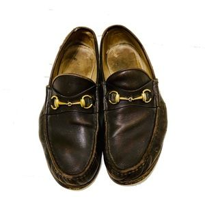 fc48d3b60ea Gucci Shoes - Gucci Classic Brown Horsebit Loafers 12 EEE